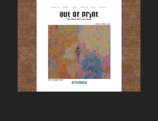 outofprintmagazine.co.in screenshot