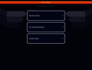 outpouringcomics.com screenshot