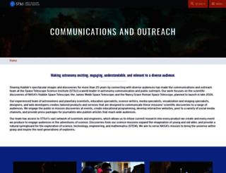 outreachoffice.stsci.edu screenshot