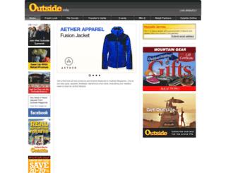 outsideinfo.com screenshot