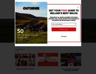 outsider.ie screenshot