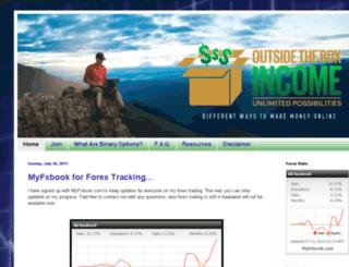 outsidetheboxincome.com screenshot