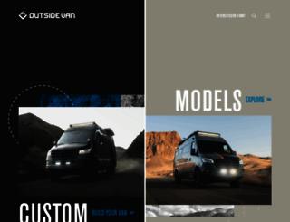 outsidevan.com screenshot
