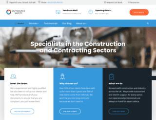 outsource-safety.co.uk screenshot