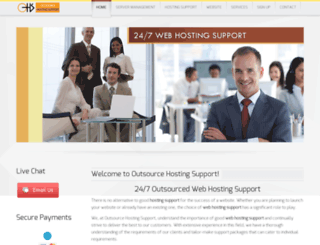 outsourcehostingsupport.com screenshot