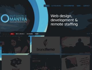 outsourcemantra.com screenshot
