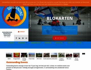 outstandingevents.nl screenshot