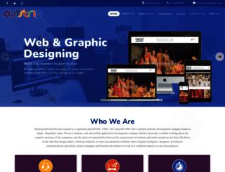 outstripinfotech.com screenshot