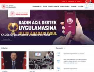 ovacik.gov.tr screenshot