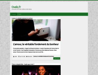 ovalic.fr screenshot