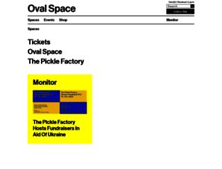 ovalspace.co.uk screenshot