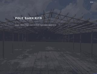 overbuiltbarnkits.com screenshot