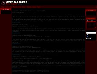 overclockers.co.nz screenshot
