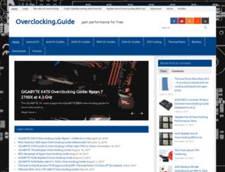 overclocking.guide screenshot
