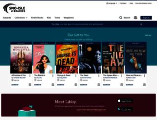 overdrive-audio-books.sno-isle.org screenshot