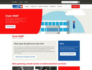 overons.kwfkankerbestrijding.nl screenshot
