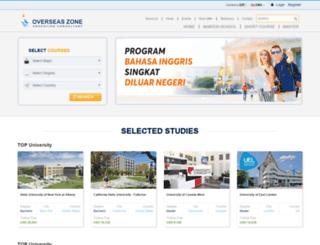 overseaszone.com screenshot