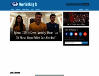 overthinkingit.com screenshot