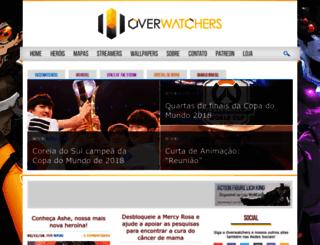 overwatchers.com.br screenshot