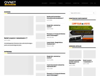 ovnet.fr screenshot