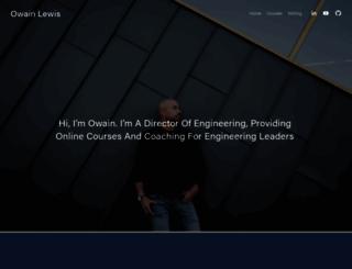 owainlewis.com screenshot