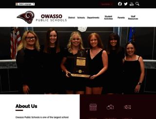 owassops.org screenshot