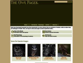 owlpages.com screenshot