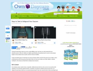 ownadaycare.com screenshot