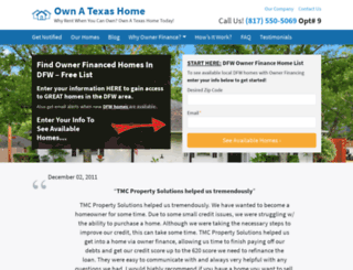 ownatexashome.com screenshot