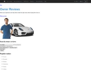 owner-reviews.carsales.com.au screenshot