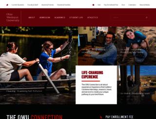 owu.edu screenshot