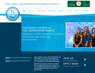 owuscholarship.org screenshot
