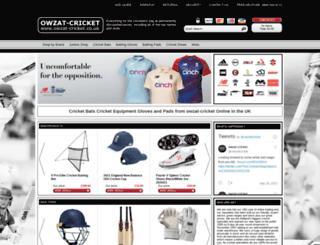 owzat-cricket.co.uk screenshot