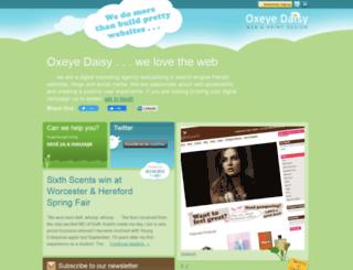 oxeyedaisy.co.uk screenshot
