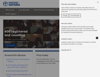 oxford.anglican.org screenshot