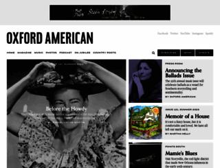 oxfordamerican.org screenshot
