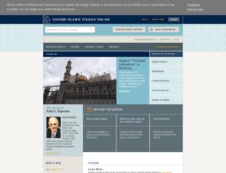 oxfordislamicstudies.com screenshot