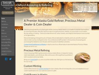 oxfordmetals.com screenshot