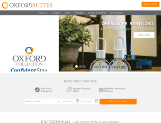 oxfordsuites.com screenshot