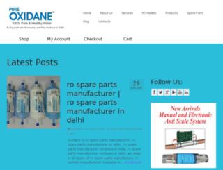 oxidane.co.in screenshot