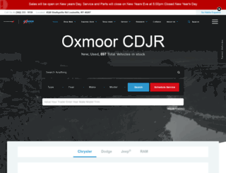 oxmoorchrysler.com screenshot