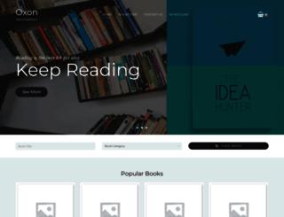 oxonacademics.com screenshot