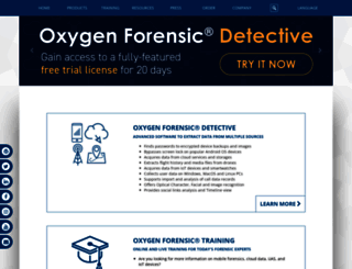 oxygen-forensic.com screenshot