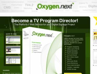 oxygennext.com screenshot