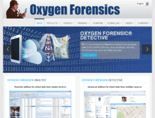 oxygensoftware.com screenshot