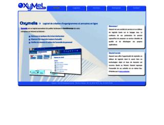oxymel.com screenshot