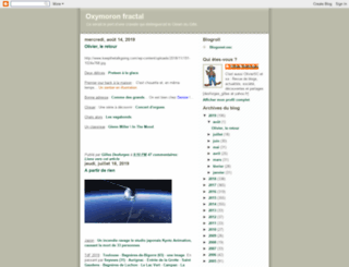 oxymoron-fractal.blogspot.fr screenshot