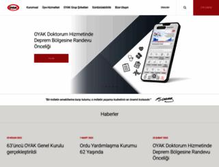 oyak.com.tr screenshot