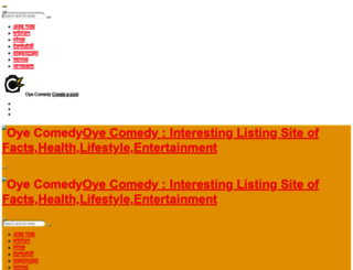 oyecomedy.com screenshot