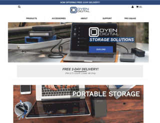 oyendigital.com screenshot